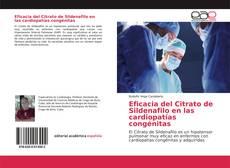 Bookcover of Eficacia del Citrato de Sildenafilo en las cardiopatías congénitas