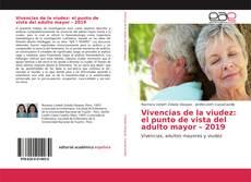 Portada del libro de Vivencias de la viudez: el punto de vista del adulto mayor – 2019