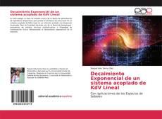 Capa do livro de Decaimiento Exponencial de un sistema acoplado de KdV Lineal