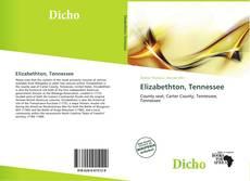 Portada del libro de Elizabethton, Tennessee