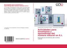 Portada del libro de Actividades para enseñanza y aprendizaje del número natural en E.I.
