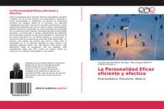 Portada del libro de La Personalidad Eficaz eficiente y efectiva