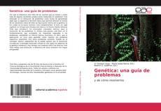 Обложка Genética: una guía de problemas