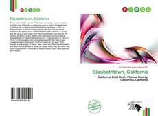 Copertina di Elizabethtown, California