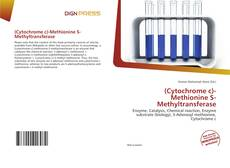 Bookcover of (Cytochrome c)-Methionine S-Methyltransferase