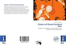 Bookcover of Cistern of Great Cerebral Vein