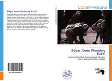 Portada del libro de Edgar Jones (Running Back)