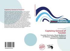 Capa do livro de Captaincy General of Yucatán