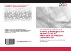Capa do livro de Nuevo paradigma en asesoría en el mercado de valores Colombiano