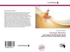 Georgia Horsley的封面