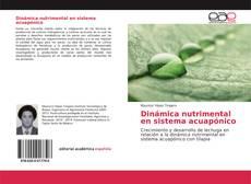 Bookcover of Dinámica nutrimental en sistema acuapónico