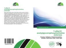 Capa do livro de 1-alkyl-2-acetylglycerophosphocholine esterase