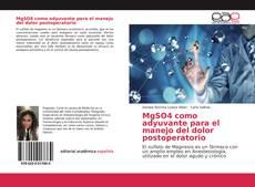 Portada del libro de MgSO4 como adyuvante para el manejo del dolor postoperatorio