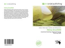 Buchcover von Henry Grunfeld
