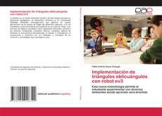 Bookcover of Implementación de triángulos oblicuángulos con robot ev3