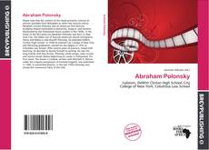 Bookcover of Abraham Polonsky
