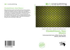 Capa do livro de Elizabethtown, New Mexico