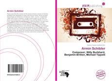 Bookcover of Armin Schibler