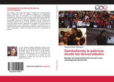 Portada del libro de Combatiendo la pobreza desde las Universidades