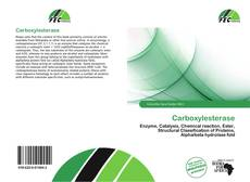 Bookcover of Carboxylesterase