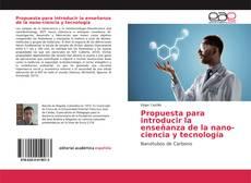 Обложка Propuesta para introducir la enseñanza de la nano-ciencia y tecnología