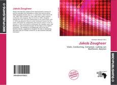 Borítókép a  Jakob Zeugheer - hoz