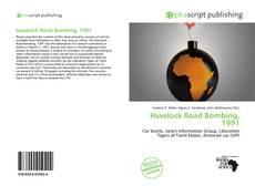 Havelock Road Bombing, 1991的封面