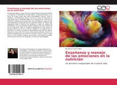 Обложка Enseñanza y manejo de las emociones en la nutrición
