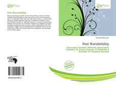 Ihor Korotetskiy kitap kapağı