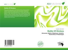 Portada del libro de Battle Of Dimbos