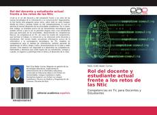 Buchcover von Rol del docente y estudiante actual frente a los retos de las Ntic