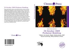 Buchcover von 28 October 2009 Peshawar Bombing