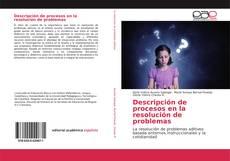 Bookcover of Descripción de procesos en la resolución de problemas