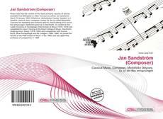 Portada del libro de Jan Sandström (Composer)