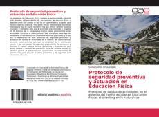 Portada del libro de Protocolo de seguridad preventiva y actuación en Educación Física