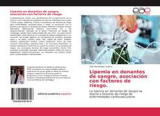 Capa do livro de Lipemia en donantes de sangre, asociación con factores de riesgo.