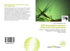 Bookcover of ADP-dependent medium-chain-acyl-CoA hydrolase
