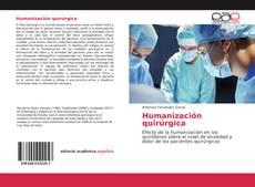Couverture de Humanización quirúrgica
