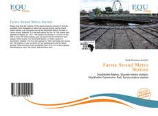 Bookcover of Farsta Strand Metro Station