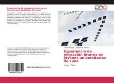 Обложка Experiencia de migración interna en jóvenes universitarios de Lima