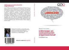 Portada del libro de Liderazgo en comunicación organizacional
