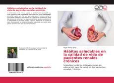 Portada del libro de Hábitos saludables en la calidad de vida de pacientes renales crónicos