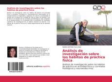 Copertina di Análisis de investigación sobre los hábitos de práctica física