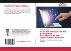 Guía de Resolución de problemas matemáticos en logística-estadística kitap kapağı