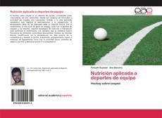 Capa do livro de Nutrición aplicada a deportes de equipo