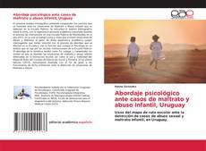 Portada del libro de Abordaje psicológico ante casos de maltrato y abuso infantil, Uruguay
