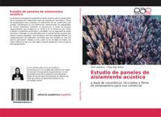 Buchcover von Estudio de paneles de aislamiento acústico