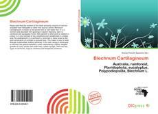 Обложка Blechnum Cartilagineum