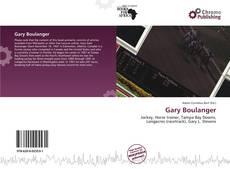 Couverture de Gary Boulanger
