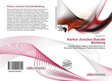 Bookcover of Karkur Junction Suicide Bombing